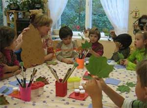 Взаимодействие воспитателя логопедической группы с детьми в период адаптации к детскому саду