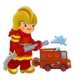 Детям о пожарной безопасности.