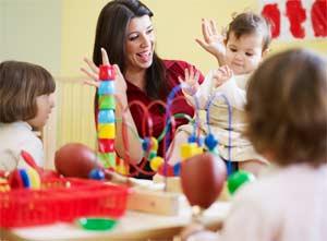 Сенсорное воспитание (развитие) детей 2-3 года жизни.