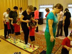 Физкультурная — оздоровительная работа с родителями «За здоровьем вместе с мамой»