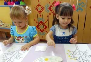 Конспект организованной образовательной деятельности по образовательной области художественно- эстетическое развитие. Рисование. Интеграция. Познавательное развитие. Младшая группа. На тему: «Осенние листочки»