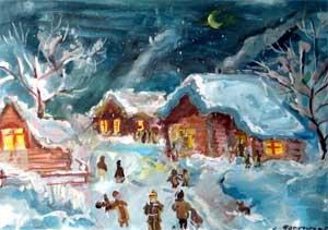 Открытое мероприятие Тема: Русский народный праздник – Святки и его обряд – колядование.