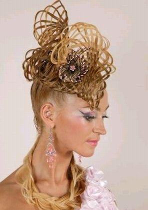 Причёска на Новый 2011 год Кролика