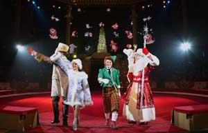 Дед Мороз в цирке - детские стихи