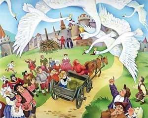Викторина по сказкам для детей младшей группы «В гостях у сказки»