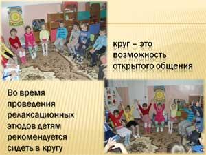 Использование релаксационных методик для снятия психоэмоционального напряжения у детей в период адаптации к условиям дошкольного учреждения