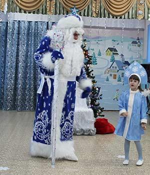Сценарий зимнего праздника «Дед Мороз и Маша»