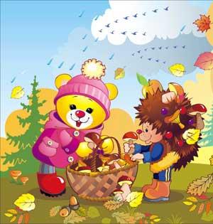 Сценарий осеннего праздника в подготовительной группе: осень в.