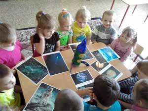 Конспект занятия по ознакомлению с окружающим миром «Космос»