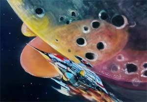 Конспект непосредственно образовательной деятельности по лепке для подготовительной группы по теме: «Космическая ракета»».