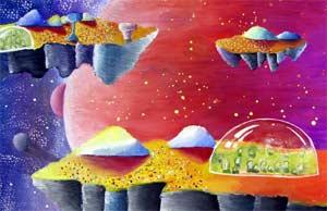 Конспект открытой непосредственно-образовательной деятельности с дошкольниками старшего возраста «Путешествие к неизведанной планете»