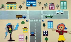 Система работы «Формирование у детей дошкольного возраста навыков безопасного поведения через ознакомление с правилами дорожного движения»