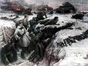 Интегрированное занятие по развитию речи, посвященное 70-летию Победы в Великой Отечественной Войне «Подвиг нашего народа»