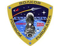 Рисунок Кати Икрамовой стал эмблемой экипажа космического корабля Союз ТМА-02М
