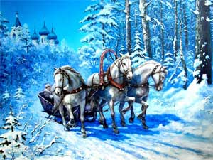 Открытое занятие по развитию речи за I полугодие Тема:  «Волшебница Зима»