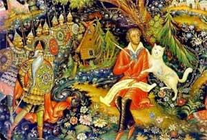 Театрализованное представление по сказкам А.С.Пушкина