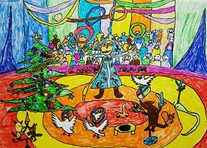 Конспект ООД в старшей группе познание «В цирке»