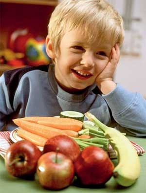 Питание ребенка в детском саду и дома