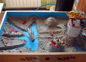 «Весеннее развлечение с Лисичкой. Игры с песком и водой»