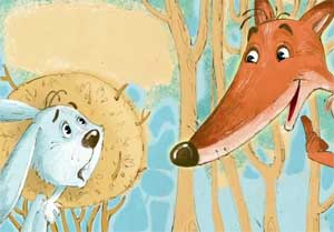 Авторская сказка «Лиса и заяц»