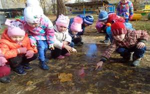 Особенности развития познавательной активности детей 4-5 лет в экспериментировании