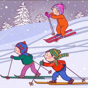 Конструкт организации совместной физкультурно-оздоровительной деятельности с детьми 7-го года жизни «Зимняя прогулка»