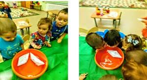 Опытно – экспериментальная деятельность «Развитие творческой исследовательской активности детей первой группы раннего развития в процессе детского экспериментирования»