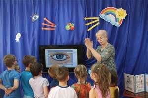 Познавательно – исследовательский проект «Почему у всех у нас на лице есть пара глаз» для детей старшего дошкольного возраста с нарушением зрения