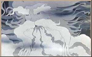 Непосредственно-образовательная деятельность с детьми средней группы — Заучивание «Ветер-ветер» А.С. Пушкина