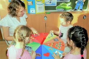 Использование авторского пособия «Волшебный круг» для развития речи детей старшего дошкольного возраста