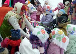 Приобщение детей к народным праздникам через реализацию проектов с непосредственным участием семей воспитанников