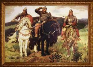 Знакомство детей с картинами русских художников, описание картин «Гордость земли русской»