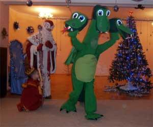 Сценарий новогоднего праздника для старших дошкольников «Змей Горыныч и Новый Год»