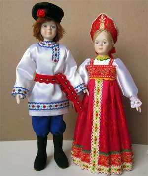 Комплексное занятие в подготовительной группе по ознакомлению с окружающим и развитию речи «Русское народное творчество. Русский костюм»