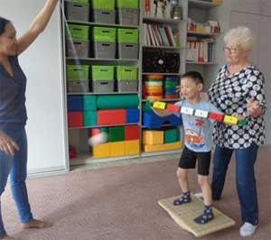 Развитие рече-двигательных навыков у детей с задержкой психического развития и особенными возможностями здоровья посредством игровой терапии с применением тренажеров и игрового оборудования фирмы «Звездное детство»