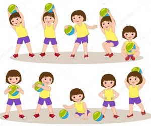 Спортивные упражнения и подвижные игры с мячом для детей старшего дошкольного возраста (из опыта работы)