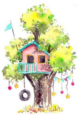 Сказка «Домик на дереве» (по мотивам русской народной сказки «Теремок»)