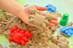Открытое занятие «Удивительный песок»