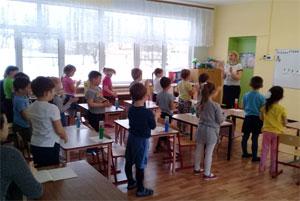 Конспект занятия в группе детей седьмого года жизни «В мире математики».