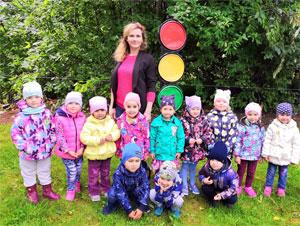 Конспект занятия по формированию у детей дошкольного возраста навыков безопасного поведения на дороге «Страна Светофория».