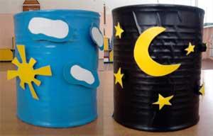 Дидактическая игра «День-ночь» для детей младшего дошкольного возраста