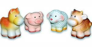 Конспект Открытого занятия в первой младшей группе на тему «Рассматривание домашних животных» (игрушки)