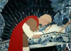 Сказка о мертвой царевне и семи богатырях.