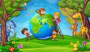 Сказка с экологической направленностью для детей 4-5 лет, По следам доброго сердца
