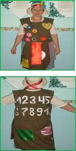 Универсальный костюм воспитателя для работы с детьми по ФЭМП