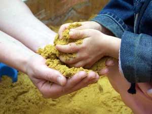 Игры с песком для развития математических представлений детей старшей группы детского сада (материал к презентации)