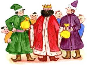 Сказка о трех королевичах