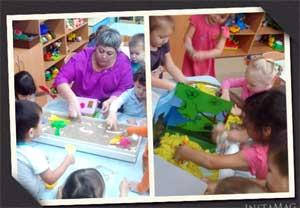 Использование игр с кинетическим песком и водой в период адаптации детей младшего дошкольного возраста