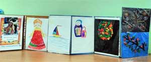 Персональная выставка творческих работ ребенка «Мир глазами ребенка»
