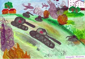Методическая разработка проекта «День Победы» для детей старшего дошкольного возраста.